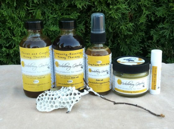 raw honey products made here in Oregon